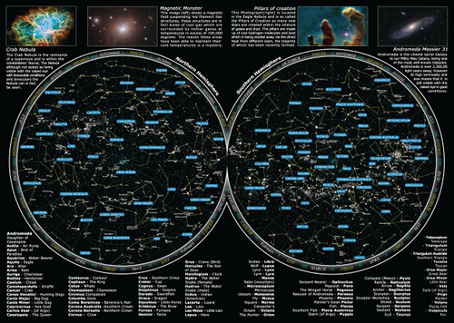 Star name registry sky atlas inside