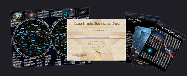Extra Bright Star (only Email) Package